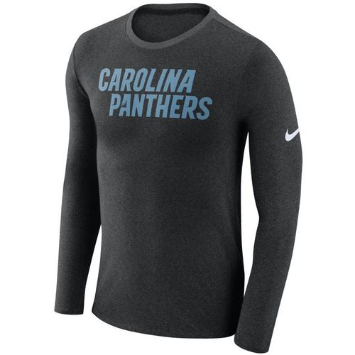 Nike™ Men's Carolina Panthers Marled Long Sleeve T-shirt