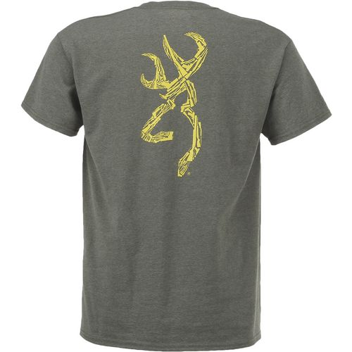 Browning Men's Wooded Buckmark Classic Outdoor Graphic T-shirt