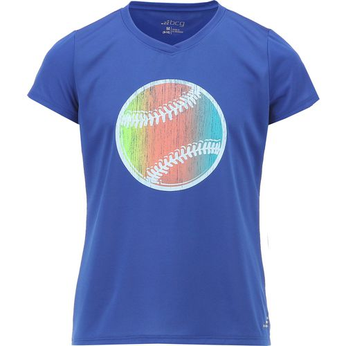 BCG Girls' Training Graphic Turbo Short Sleeve T-shirt