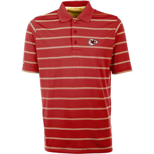 Antigua Men's Kansas City Chiefs Deluxe Polo Shirt