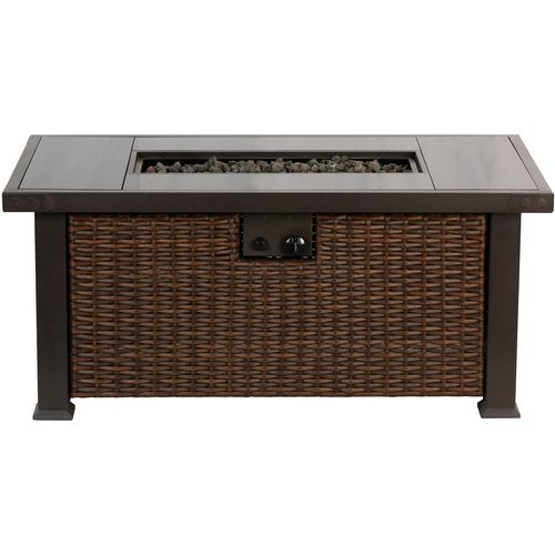 ... Bali Outdoors 52 In Rectangular Gas Fire Pit Table   View Number 3 ...