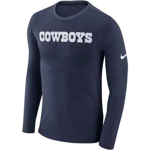 Nike Men's Dallas Cowboys Marled Long Sleeve T-shirt