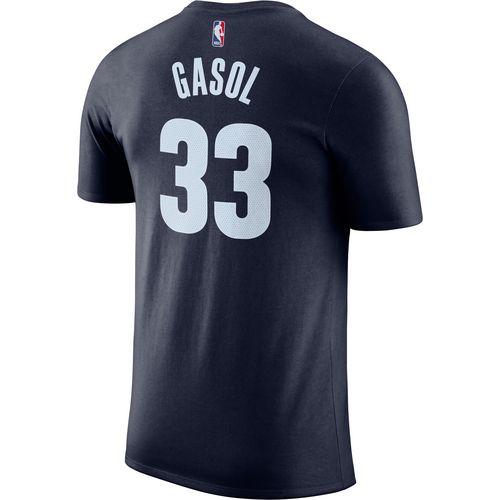 Nike Men's Memphis Grizzlies Marc Gasol 33 Name and Number T-shirt