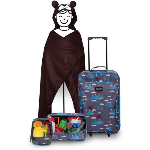 Display product reviews for Coleman Kids' 4-Piece Bear Travel Set