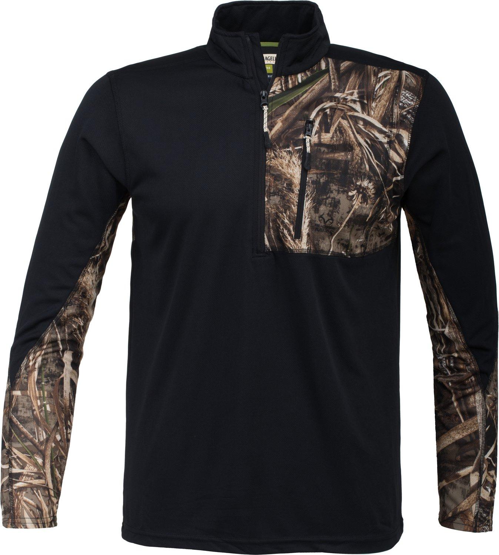 Display product reviews for Magellan Outdoors Men's Hunt Gear 1/4 Zip Camo Shirt