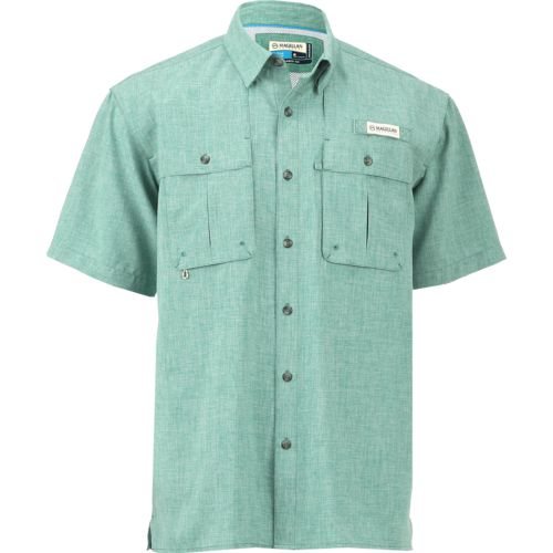 Magellan Outdoors Men's Aransas Pass Heather Short Sleeve Fishing Shirt