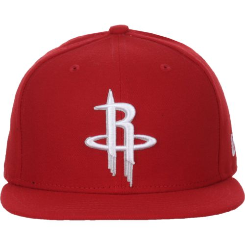 New Era Men's Houston Rockets 59FIFTY Stock Cap