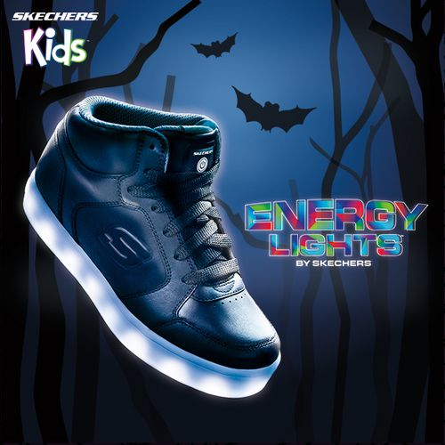 SKECHERS Boys' S Lights Energy Lights Shoes - view number 6