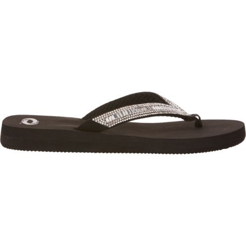 Skechers Flip Flops With Rhinestones
