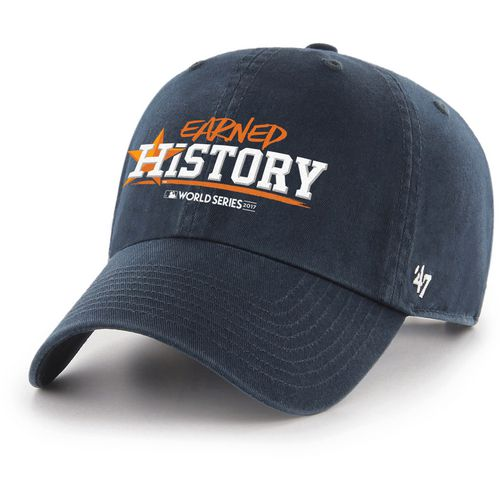 '47 Men's Astros Earned History World Series Champs Clean Up Cap
