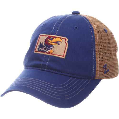 Zephyr Men's University of Kansas Turnpike State Cap - view number 1