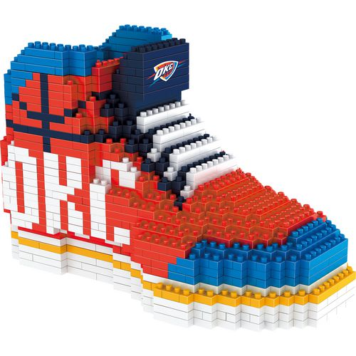 Forever Collectibles Oklahoma City Thunder BRXLZ 3-D Sneaker Puzzle