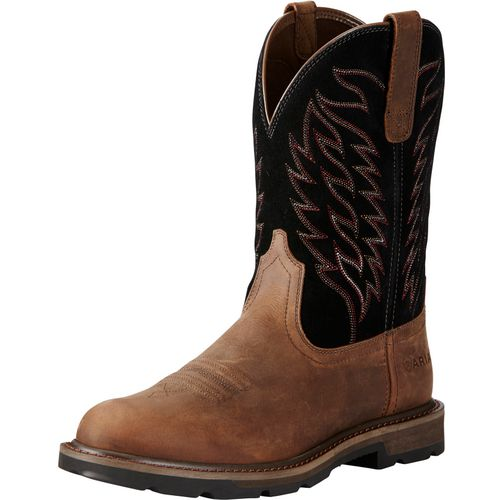 Display product reviews for Ariat Men's Groundbreaker Pull-On Safety Toe Work Boots
