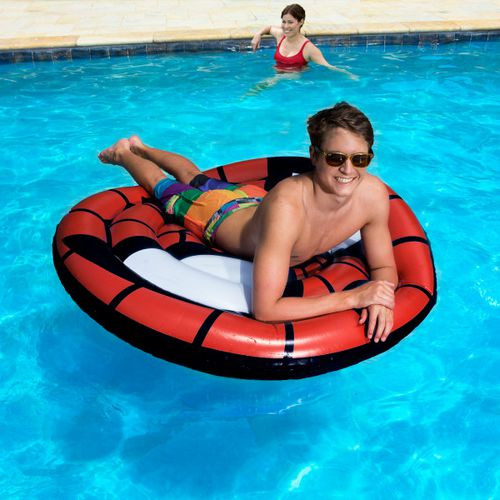 SwimWays Marvel Oversize Inflatable Shield Pool Float - view number 4