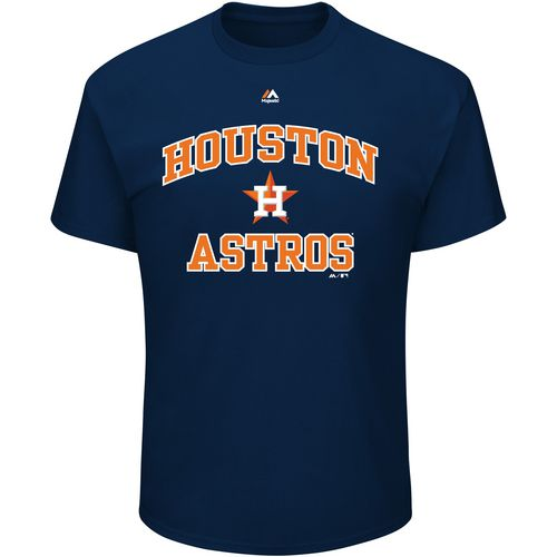 Majestic Men's Houston Astros Heart and Soul III T-shirt