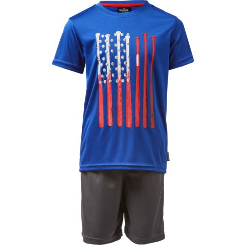 Spalding Toddler Boys' Americana T-shirt and Shorts Set