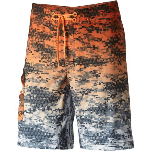 Columbia Sportswear Men's PFG Offshore Camo Fade Board Shorts (Orange Dark, Size 30″) – Men's Outdoor Apparel, Men's Fish Pants And Shorts at Academy Sports