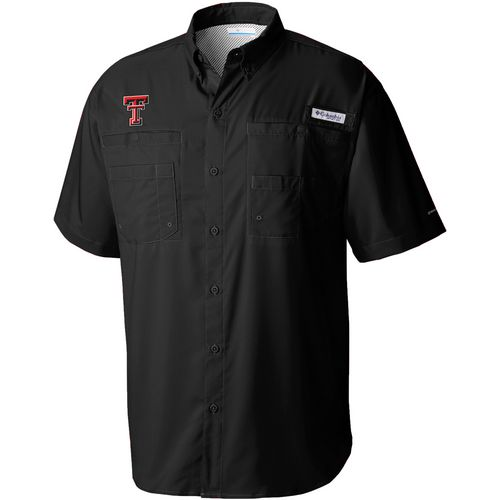 Columbia Sportswear Men's Texas Tech University Tamiami Shirt
