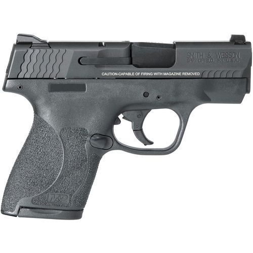 Smith & Wesson M&P9 Shield MA Compliant 9mm Semiautomatic Pistol