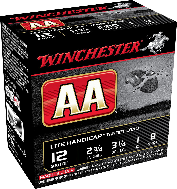 Winchester Target Load AA Lite Handicap 12 Gauge Shotshells