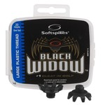 Softspikes Black Widow Large Plastic Thread Spikes 22-Pack