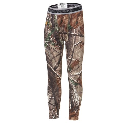 Under Armour® Boys' ColdGear® Evo Realtree AP Camo Legging