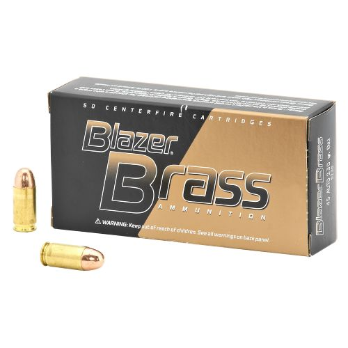 Federal® Blazer Brass .45 ACP 230-Grain Centerfire Pistol Ammunition - view number 1