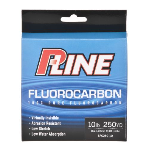 P-Line 10 lb. - 250 yards Fluorocarbon Fishing Line