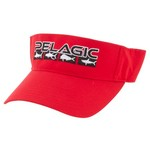 Pelagic Men's Fish Flag Visor