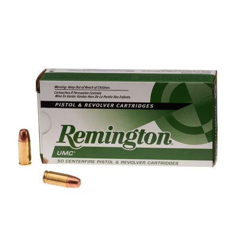 Remington UMC 9mm Luger 147-Grain Centerfire Handgun Ammunition