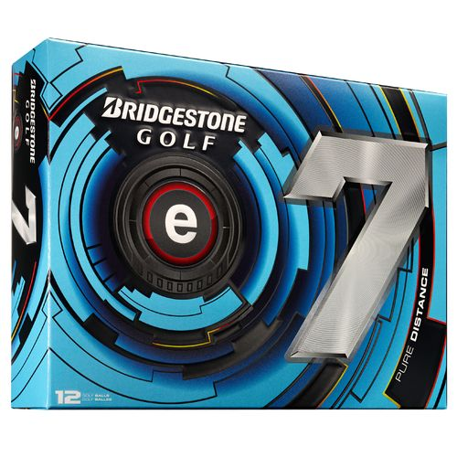 Bridgestone Golf E7 Pure Distance Golf Balls 12-Pack