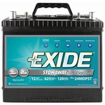 Exide Stowaway Dual-Purpose Marine Battery - view number 1