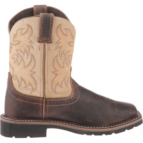 Justin Kids' Stampede Waxy Boots