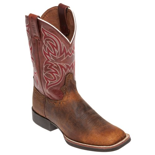 Justin Men's Stampede Cattleman Rugged Cow Western Boots - view number 3