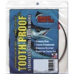American Fishing Wire Tooth Proof 58 lbs - 30 ft Single-Strand Leader Wire - view number 1