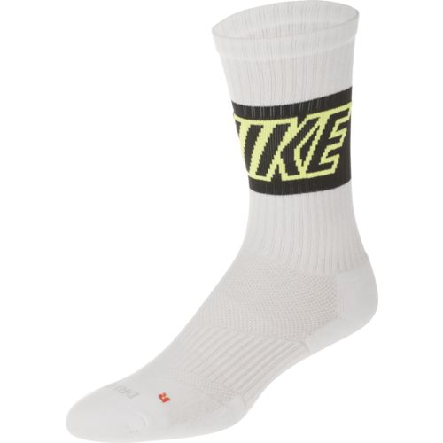 Nike Adults' Dri-FIT Fly Rise Crew Socks 3-Pack
