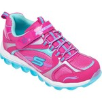 SKECHERS Girls' Skech-Air Athletic Lifestyle Shoes