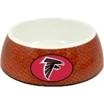 GameWear Atlanta Falcons Classic NFL Football Pet Bowl