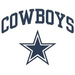 Stockdale Dallas Cowboys Die-Cut Decal