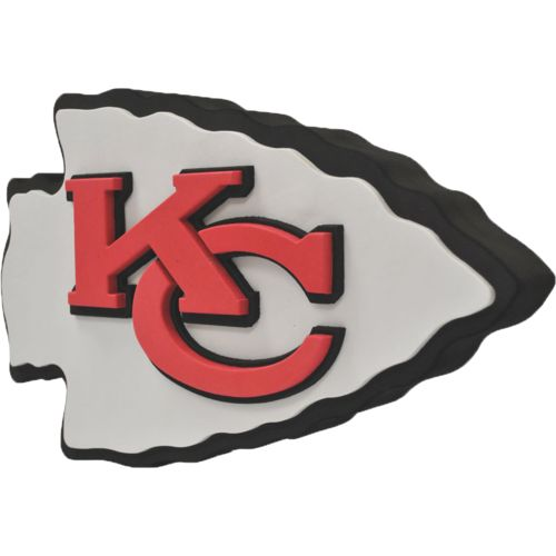 Foamheads Kansas City Chiefs Fan Foam 3-D Logo Sign