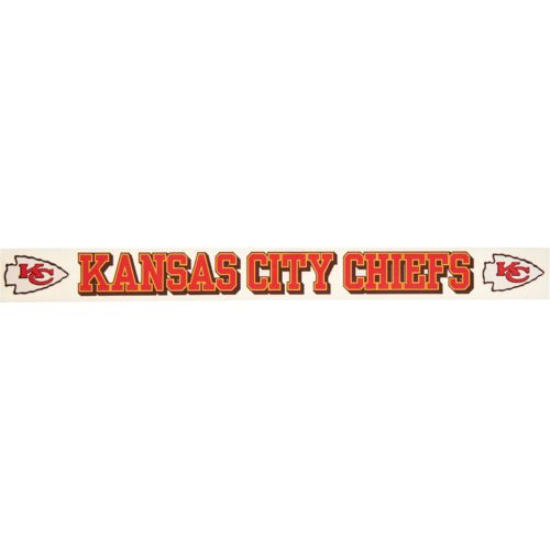 "Stockdale Kansas City Chiefs 2"" x 19"" Vinyl Die-Cut Decal"