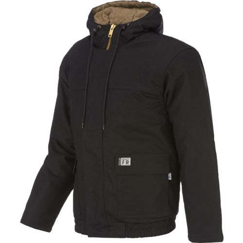 Wolverine Men's Flame Resistant Hooded Work Jacket