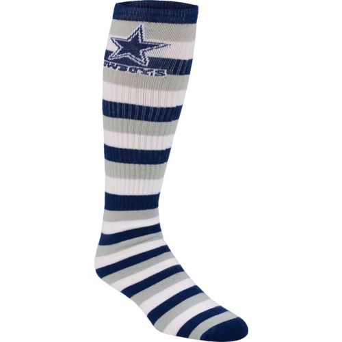 For Bare Feet Adults' Dallas Cowboys Pro Stripe Tube Socks