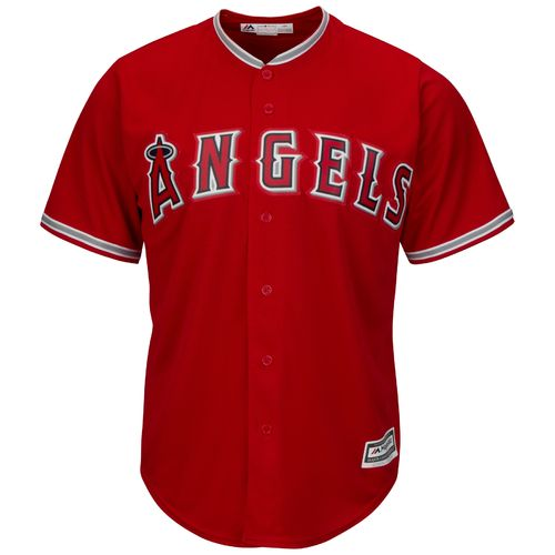 Majestic Men's Los Angeles Angels Cool Base® Alternate