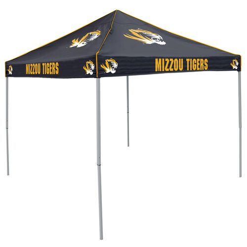 Logo University of Missouri Straight-Leg 9 ft x 9 ft Color Tent