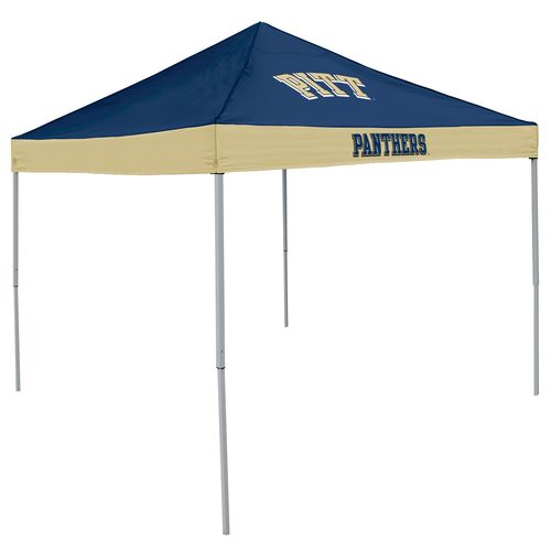Logo University of Pittsburgh Straight-Leg 9 ft x 9 ft Economy Tent