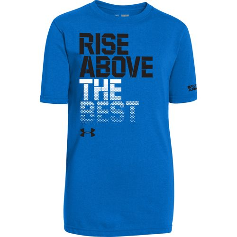 Under Armour Boys 39 Rise Above T Shirt Academy