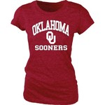 Blue 84 Juniors' University of Oklahoma Triblend T-shirt