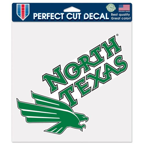 WinCraft University of North Texas Perfect Cut Color Decal