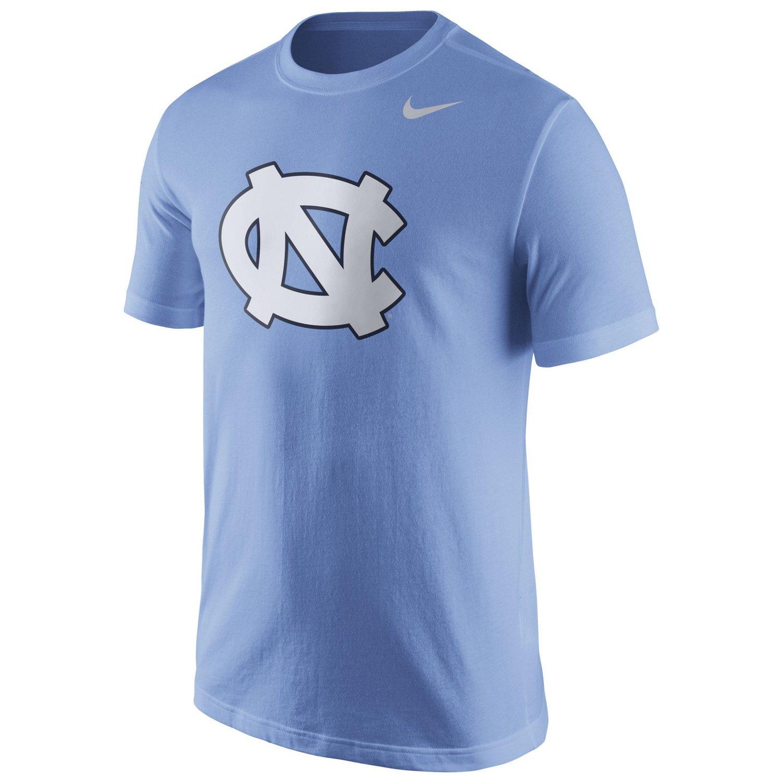 Nike men 39 s university of north carolina logo t shirt for University of north carolina t shirts